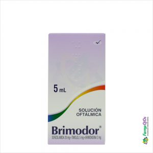 BRIMODOR SOL. OFT. FRASCO X  5ML