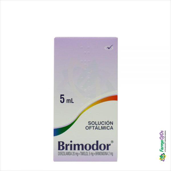 BRIMODOR SOL. OFT. FRASCO X 5ML