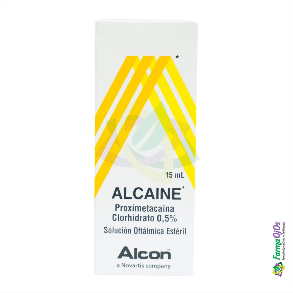 ALCAINE® SUSPENSIÓN OFTÁLMICA