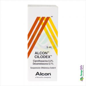 ALCON CILODEX ® FRASCO GOTERO