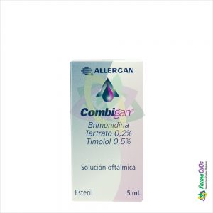 COMBIGAN® 0.02/0.05 SOL OFT FCOX5ML