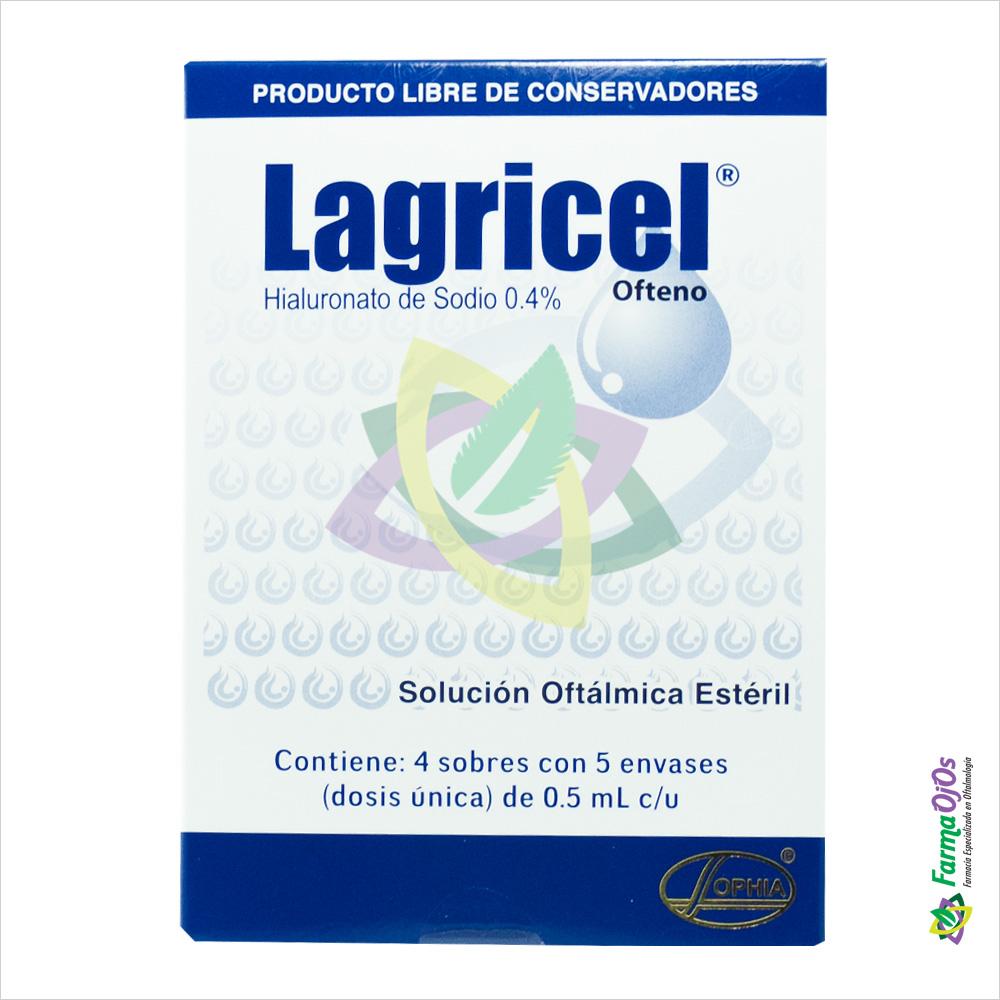 LAGRICEL® OFTENO ORIGINAL CON 4 STRIPS