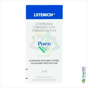 LOTEMICIN®SUSPENSION OFTALMICA
