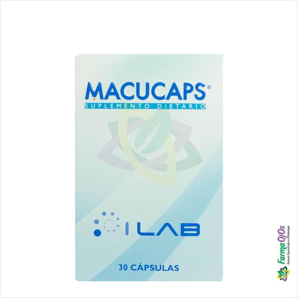MACUCAPS® SUPLEMENTO DIETARIO CAJA X 30