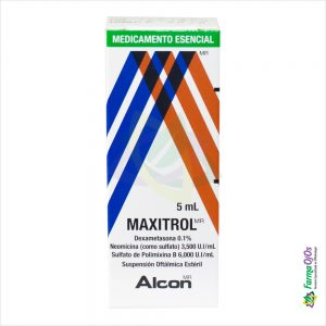 MAXITROL SUSPENSION OFTALMICA ESTÉRIL