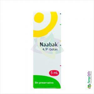 NAABAK® SOL OFT GOTAS