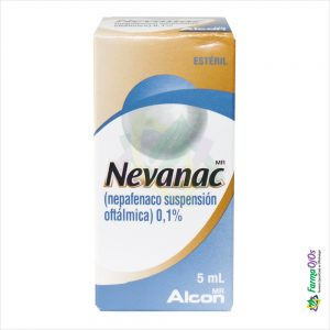 NEVANAC SUSPENSION 0.1%