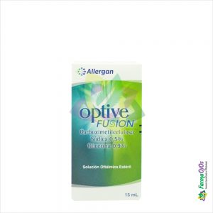 OPTIVE® FUSION SOL OFT FCO X 15 ML