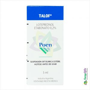 TALOF® SUSP OFT FCOX5ML