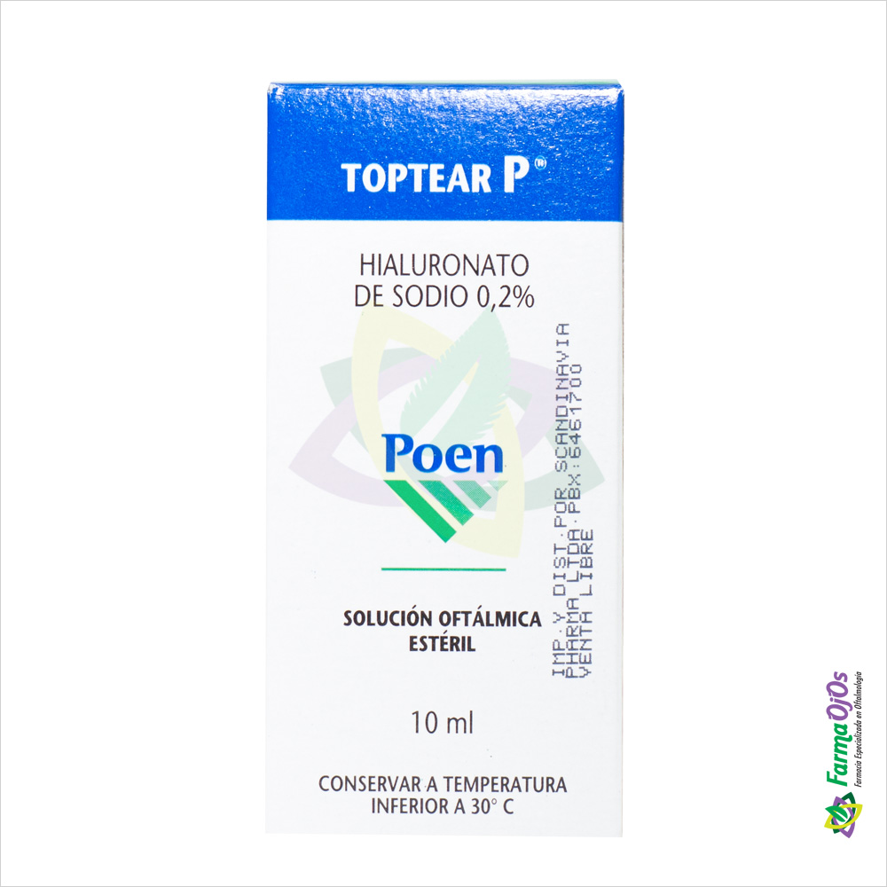 TOPTEAR P® SOL OFT FCOX10ML