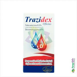 TRAZIDEX® OFTENO 5 ML ORIGINAL